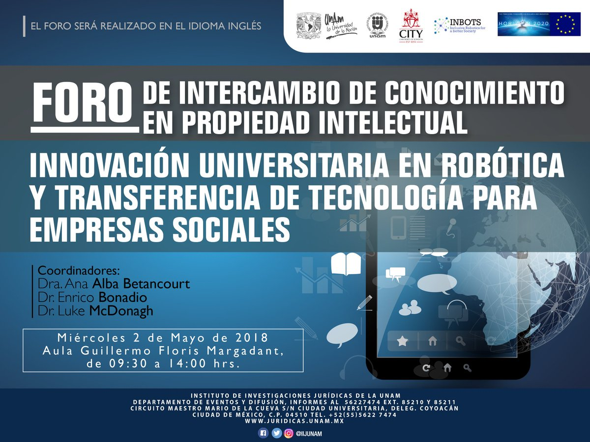 Circuito Alba : Inbots connects european ip with mexican universities u2013 inbots