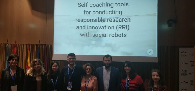 Workshop on self-coaching tools for conducting responsible research and innovation (RRI) with social robots