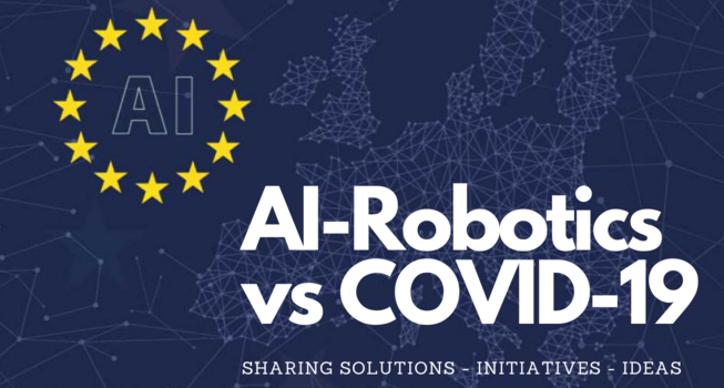 Join the AI-ROBOTICS vs COVID-19 initiative of the European AI Alliance