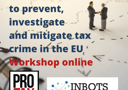 New methods to prevent, investigate and mitigate tax crime in the EU